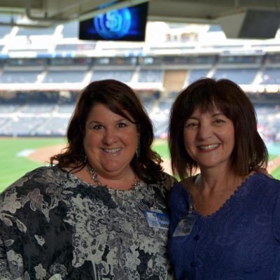 Kids' Turn San Diego's Program Director Beth Sondak and  Executive Director Cindy Grossman